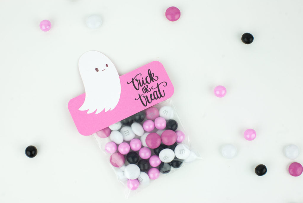 Ghostly Candy Treat Bags