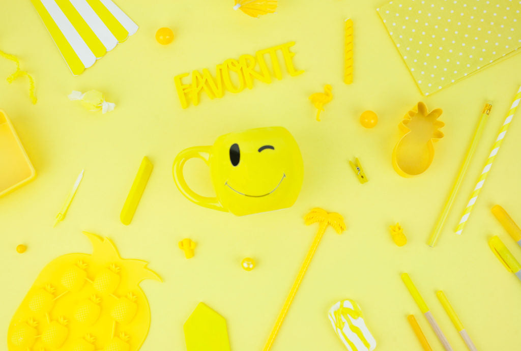 Why Color Me Happy _ Yellow Color Board