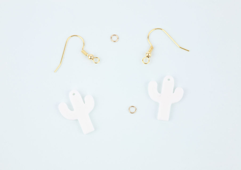 DIY Cactus Earrings