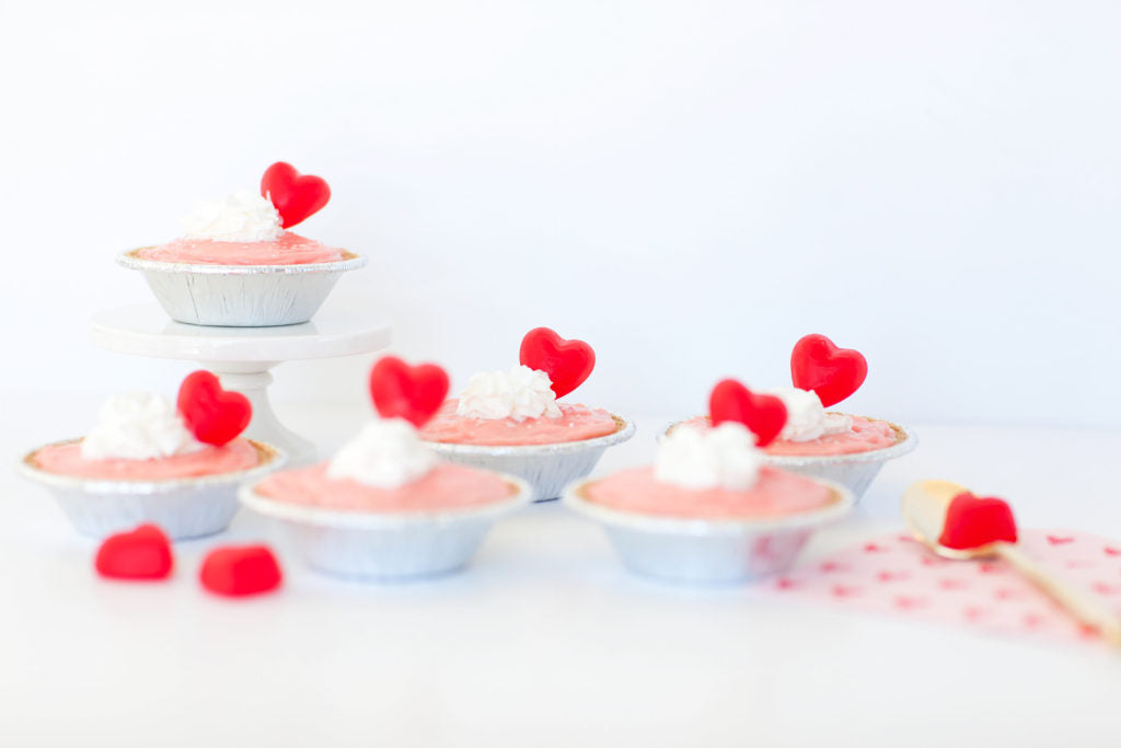 Eat your Mini Heart out! These mini mousse pies are sure to be sweet.
