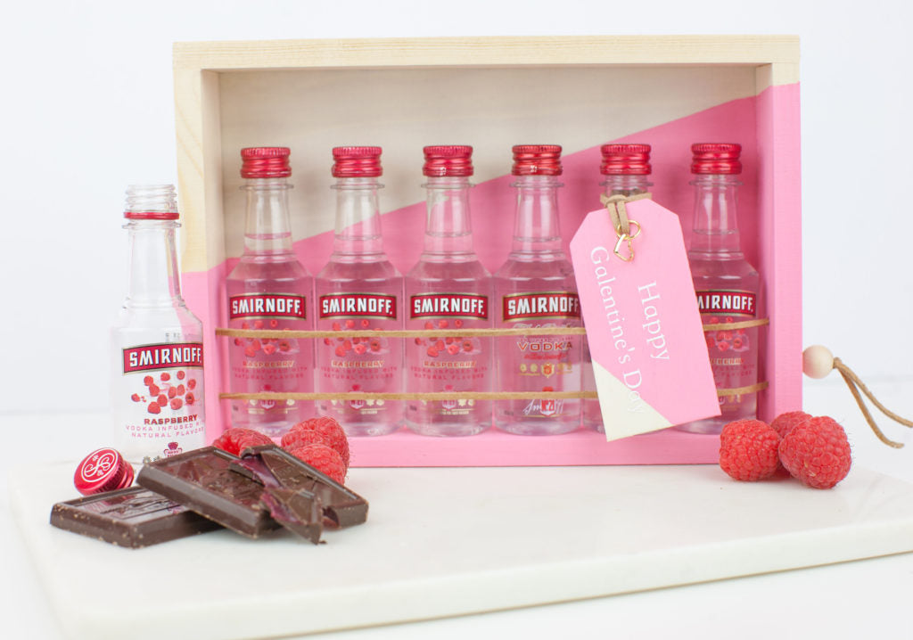 Let's Get Together & Drink About It - DIY Galentine's Day Gift Idea