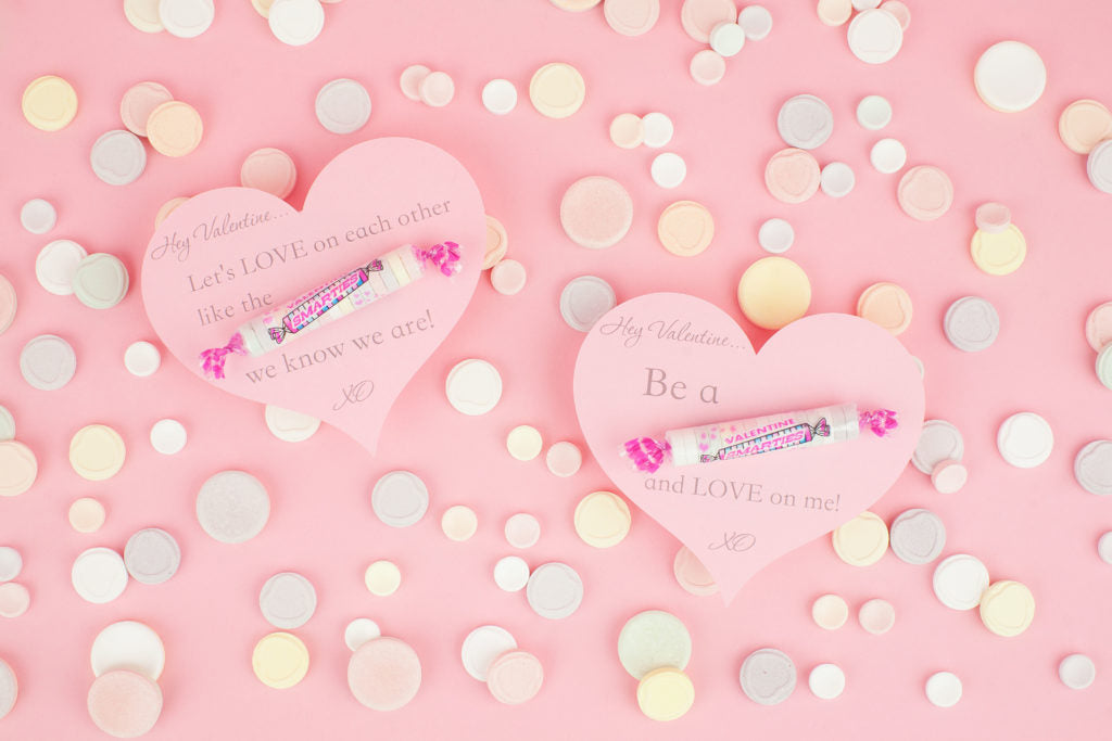 Be A Smartie - DIY Valentine's Day Cards