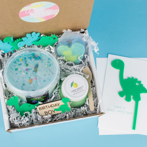 Dinosaur Boy Birthday Gift Box - Party Gift Box - Boy Gift Boxes - Kids Gift Boxes - Boy Birthday Box