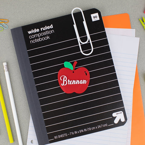 Apple Personalized Acrylic Hang Tag