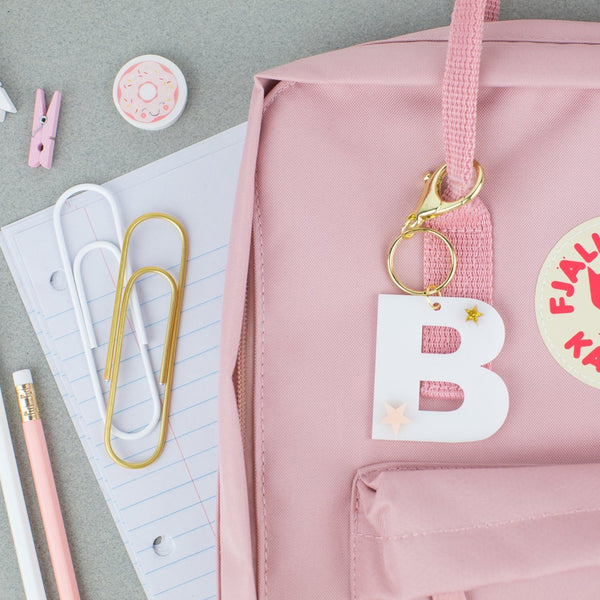 Customized Letter Acrylic Tags | Hang Tag | Customized Hang Tags | Gift Tags | Backpack Tags | Bag Tags | School Tags | Back to School