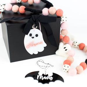 Ghost Personalized Acrylic Hang Tag