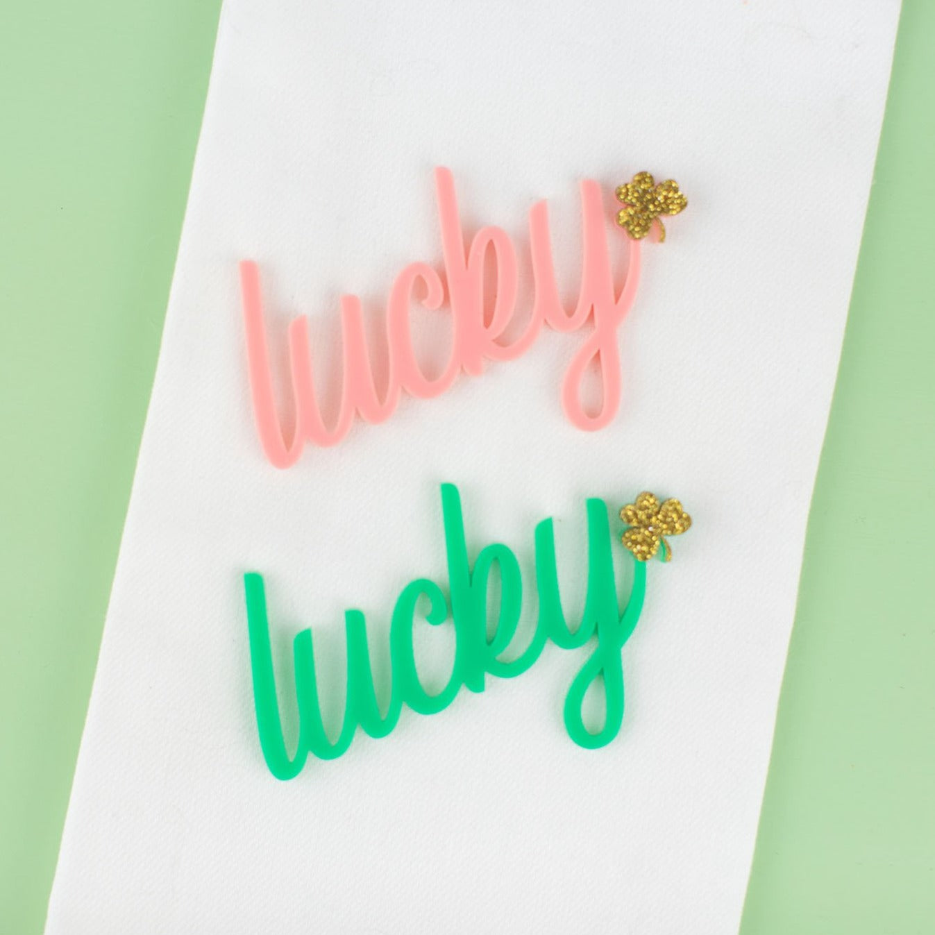 Lucky Shamrock - Place Card