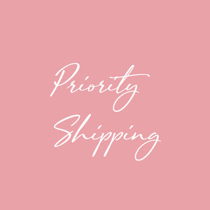 After Purchase Priority Shipping Fee