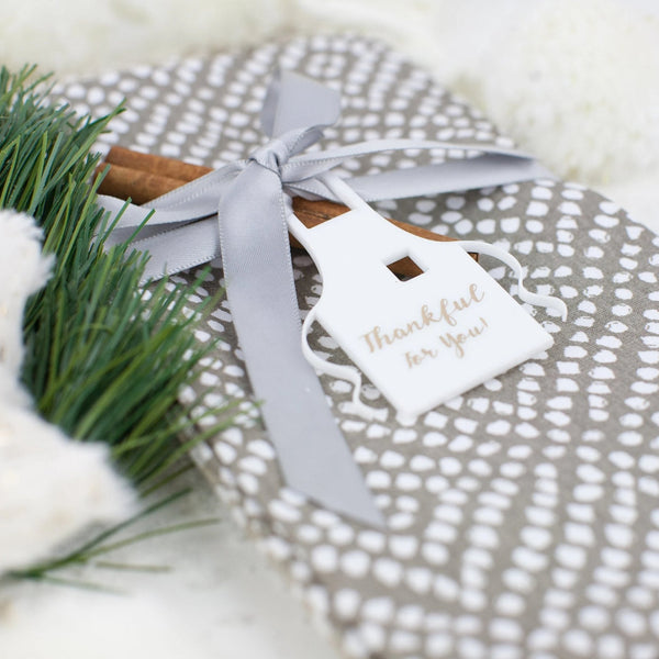 Hostess Apron Gift Tag