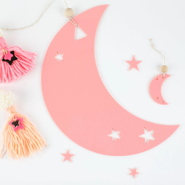 Half Moon Wall Decor
