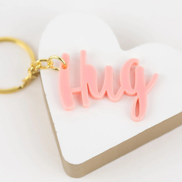 Hug Acrylic Keychains - Set of 5