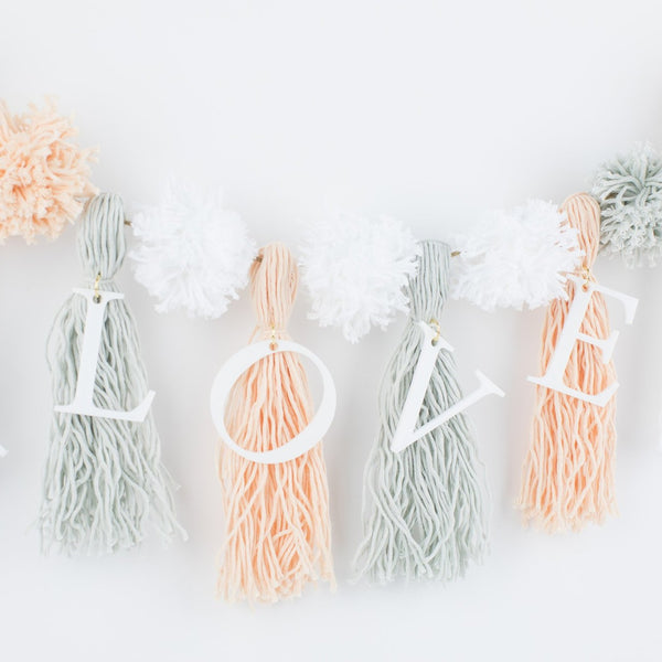 Love Acrylic Garland Kits