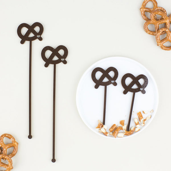Pretzel Stir Sticks, 6 count