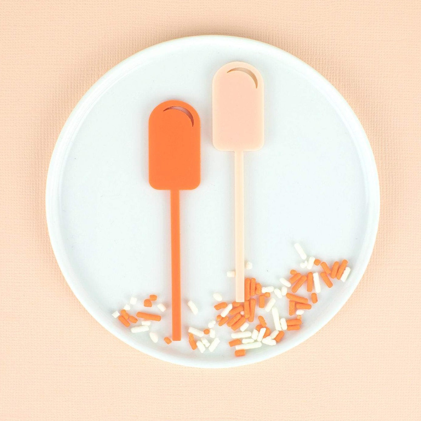 Popsicle Cupcake Toppers, 6 count