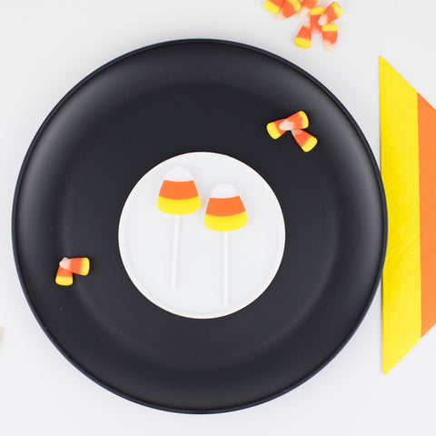 Candy Corn Cupcake Toppers, 6 count