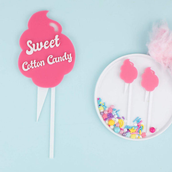 Cotton Candy Stir Sticks, 6 count
