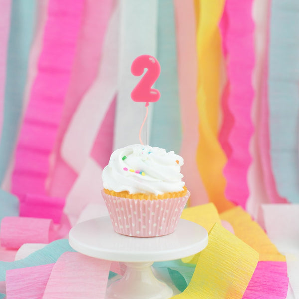 Number Balloon Cupcake Toppers, 1 count