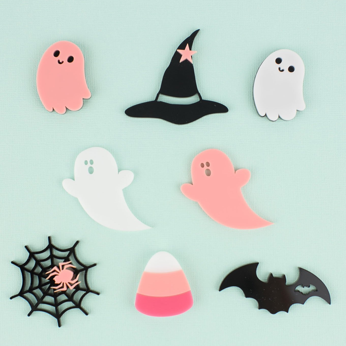 Halloween Assorted Charms, 8 count