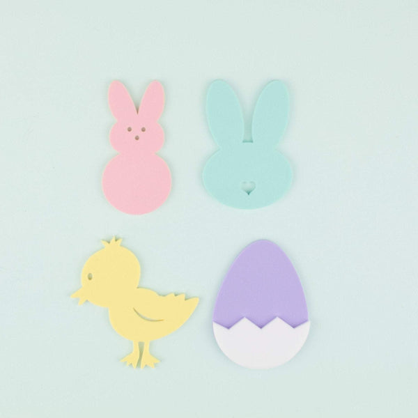 Assorted Easter Place Setting - 4 Count