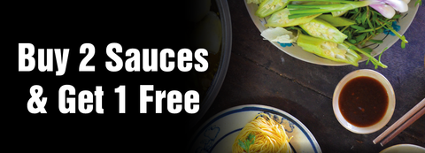 Buy 2 Sauces & Get 1 Free Offer from SeeWoo Express