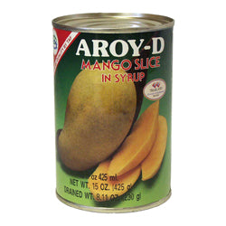 01791 泰國罐裝芒果片AROY-D MANGO IN SYRUP SLICED*