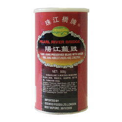 02743 珠江橋牌陽江薑豉  PEARL RIVER BRIDGE YANG JIANG PRESERVED BLACK BEANS WITH GINGER*