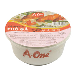 04439 SVW A-One Chicken Flavour Rice Noodles
