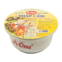 04445 西貢味王雜錦碗裝麵SVW A-ONE INSTANT BOWL NOODLE (MIX)*