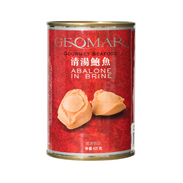 04914 Geomar Chilean Abalone In Brine - 7 Pieces
