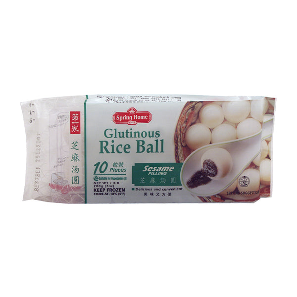 53602 SPRING HOME TYJ FROZEN SESAME GLUTINOUS RICE BALL (10*20G) (Store Pickup Only)