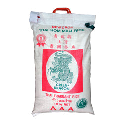 054360 Green Dragon Fragrant Rice - 10kg Bag