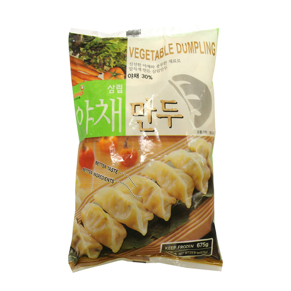 仅限自取PickUpOnly 055448 韓國雪藏什菜餃子SAMLIP FROZEN VEGETABLE DUMPLING(YACHAE MANDU)(50*13.5G)*