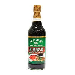 055750 PEARL RIVER BRIDGE SEASONED SOY SAUCE FOR SEAFOOD 500ml