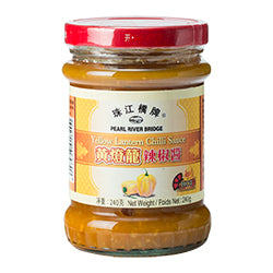 10820珠江橋牌黄燈籠辣椒醬(辣)PEARL RIVER BRIDGE YELLOW LANTERN CHILLI SAUCE(HOT)