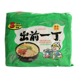 14098 NISSIN DEMAE RAMEN NOODLES (ARTIFICIAL PORK) 5*100g