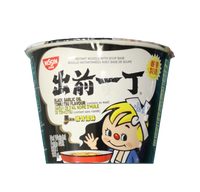 14754 出前一丁黑蒜油豬骨湯碗麵NISSIN DEMAE RAMEN BOWL NOODLE(BLACK GARLIC OIL TONKOTSU)(2*12)