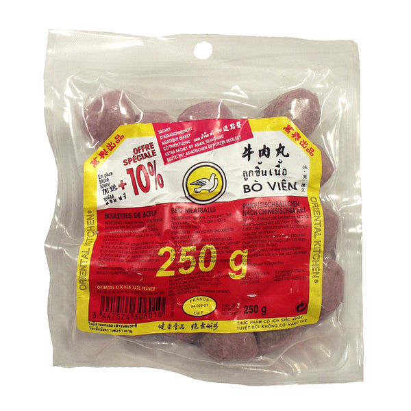 仅限自取PickUpOnly 31144 萬興凍牛丸ORIENTAL KITCHEN FROZEN BEEF MEATBALLS 603C