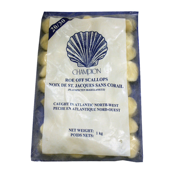 31415 IQF ROE OFF SCALLOP 900G (Store Pickup Only)