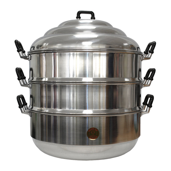 "36972 10.25""泰國蒸煲26CM(10.25"") ALUMINIUM STEAM POT*"