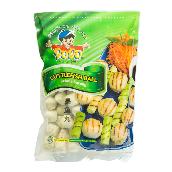 41521 DODO FROZEN CUTTLEFISH BALL 1kg (Store Pickup Only)
