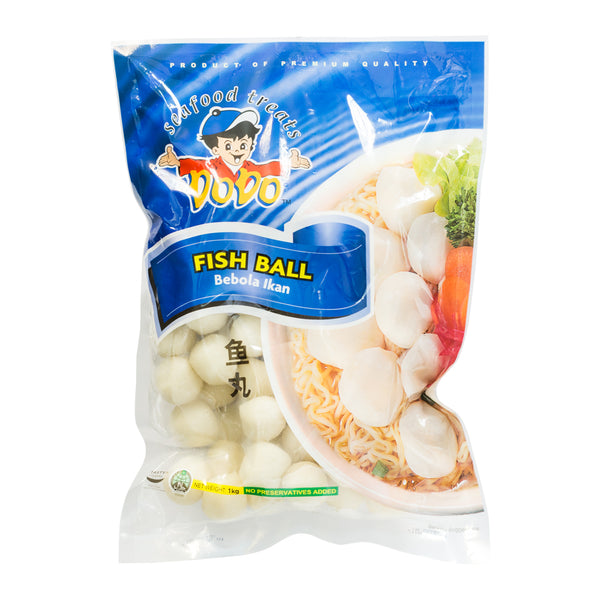 Dodo Frozen Fish Ball 1kg (Store Pickup Only)