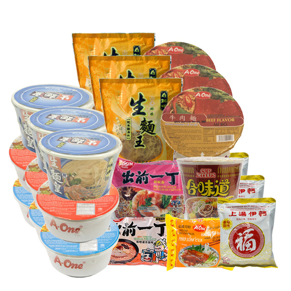 ESSENTIAL FOOD BOX 2 美味速食面家庭套餐(10*3包装)Instant Noodle Family Box (10*3 pack)