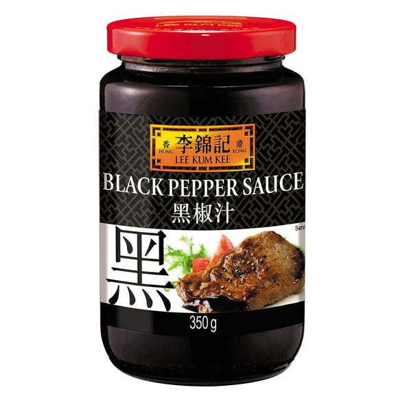 49686 LEE KUM KEE BLACK PEPPER SAUCE 350g