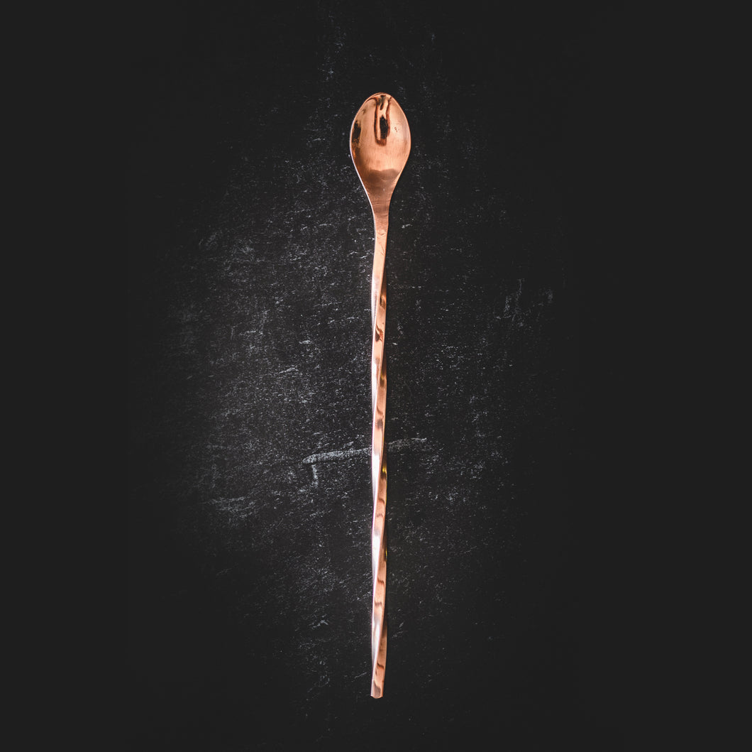 Copper Cocktail Stirrer Spoon