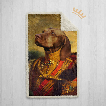 The General - Royal Sherpa Pet Blanket™