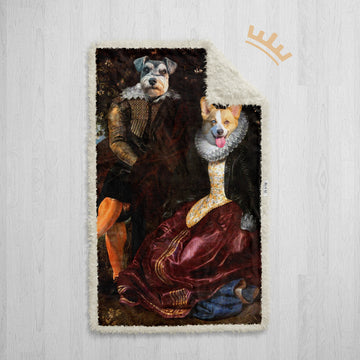 The Lord & Lady - Royal Sherpa Pet Blanket™