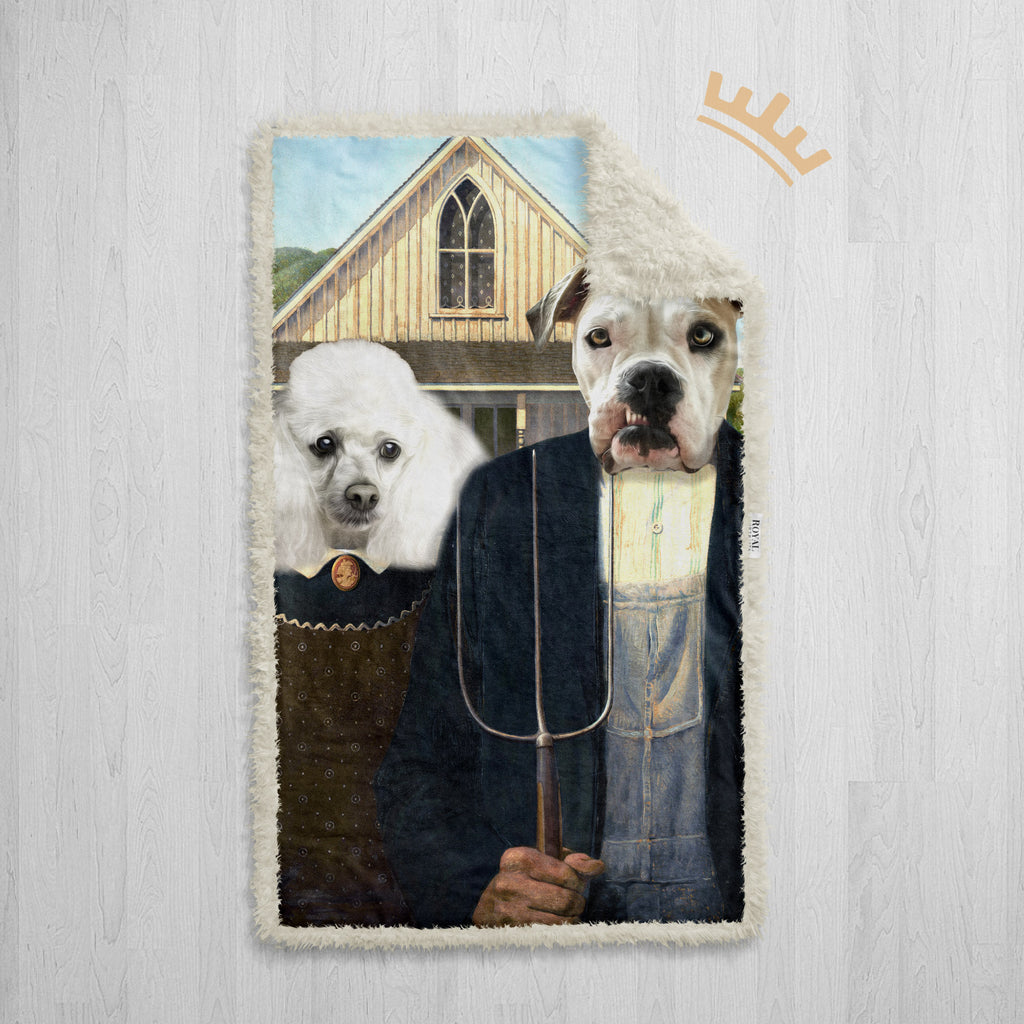 The American Gothic - Royal Sherpa Pet Blanket™