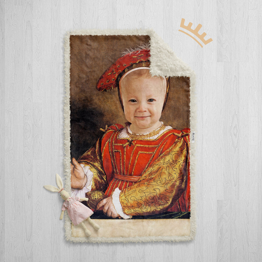 The Prince (Baby) - Royal Sherpa Blanket™