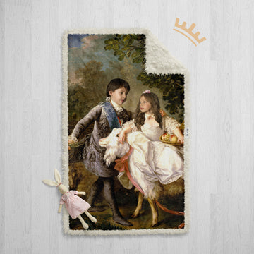 The Prince & Princess (Children) - Royal Sherpa Blanket™
