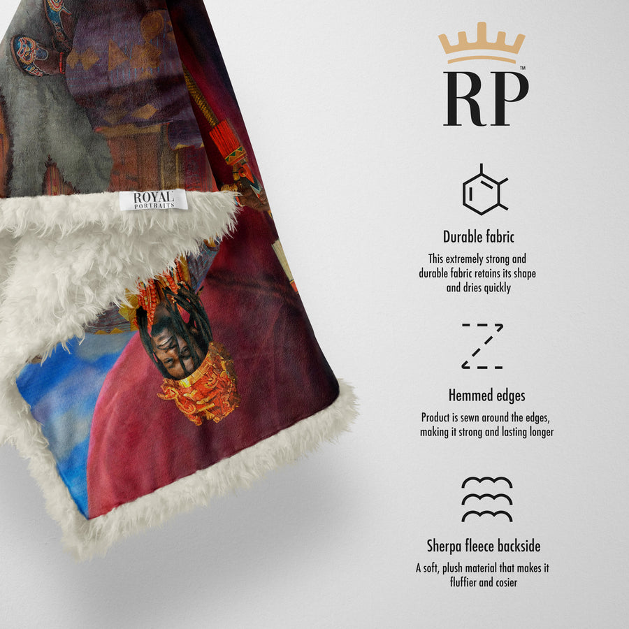 The African King - Royal Sherpa Blanket™